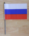 Russia Country Hand Flag - Medium.